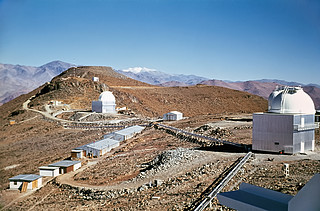 A Glimpse into the Past — Then and Now at La Silla Observatory (historical image)