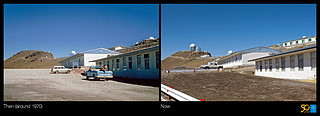 La Silla, the First Home for ESO's Telescopes (side-by-side composite)