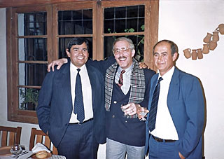 Elias Torres' farewell party in 1987