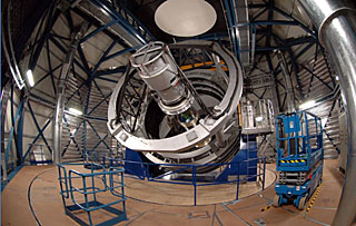 VISTA, el Visible and Infrared Survey Telescope
