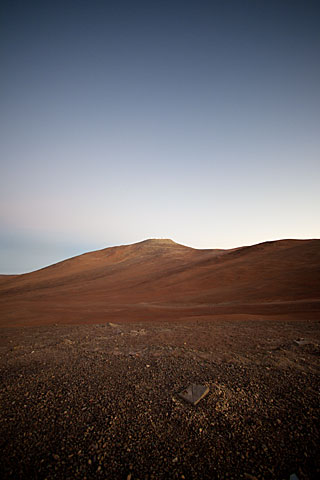 Sunrise at Paranal Observatory