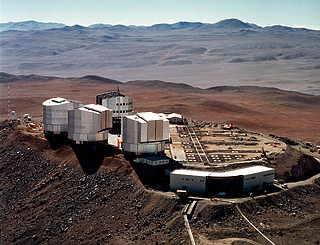 Aerial View of Paranal (15 April 1998)