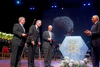 Kavli Prize in Astrophysics for 2010