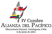 Fourth Summit of the Pacific Alliance (logo)