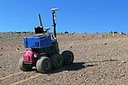 Der Marsrover Seeker während der Tests auf dem Paranal
