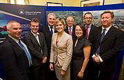 Cerimónia da entrega de prémios durante a recepção na House of Commons, Reino Unido