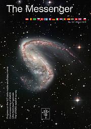 Capa da revista The Messenger Nº 151