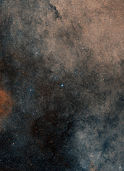 Céu em torno do aglomerado estelar Terzan 5