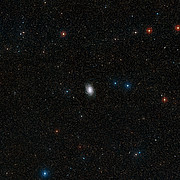 Wide-field view of the sky around NGC 6744