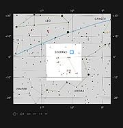 Das COSMOS-Feld im Sternbild Sextant