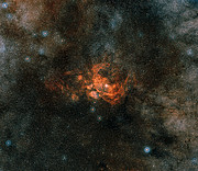 Wide-field view of the area of NGC 6357