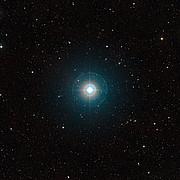 Panoramica del campo della stella madre del famoso esopianeta Tau Boötis b