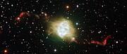 Planetární mlhovina Fleming 1 na snímku z ESO/VLT