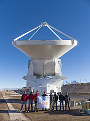 The final ALMA antenna