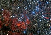 Der farbenfrohe Sternhaufen NGC 3590