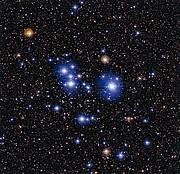 El cúmulo estelar Messier 47