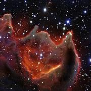 Imagen obtenida con el VLT del glóbulo cometario CG4