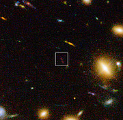 Galaksen A1689-zD1