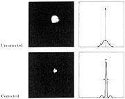 Deneb observed with the VLT Adaptive Optics Prototype System