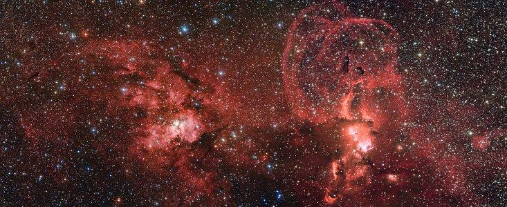 Enorm stjernedannelse