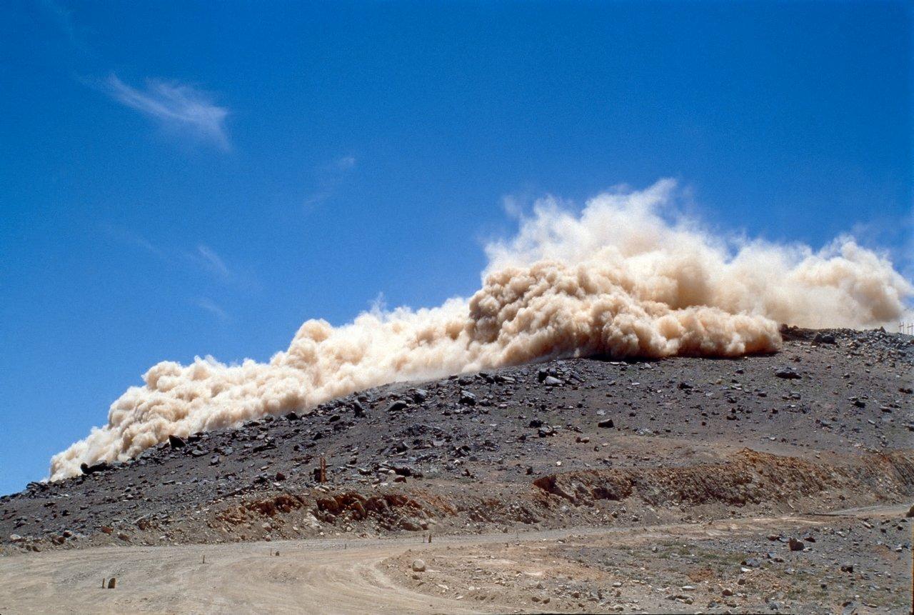Rock Blasting Safety : Rock blasting eso