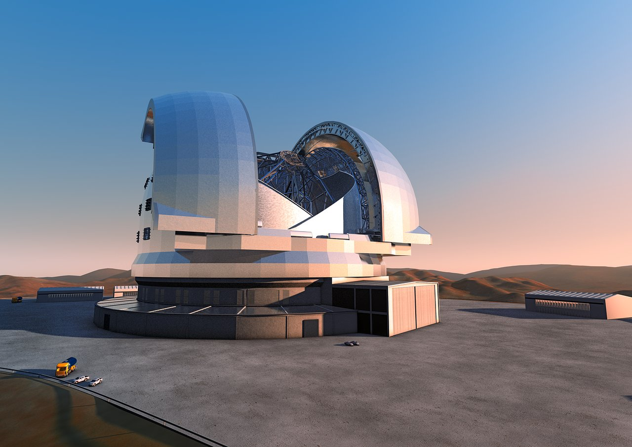 European Extremely Large Telescope. Courtesy ESO.