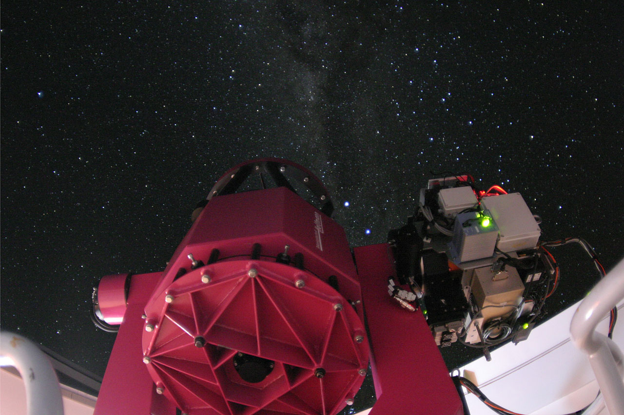The REM telescope