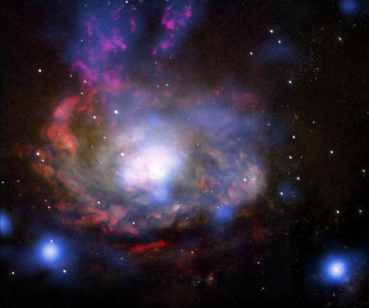 The Wild, Hidden Cousin of SN 1987A | ESO