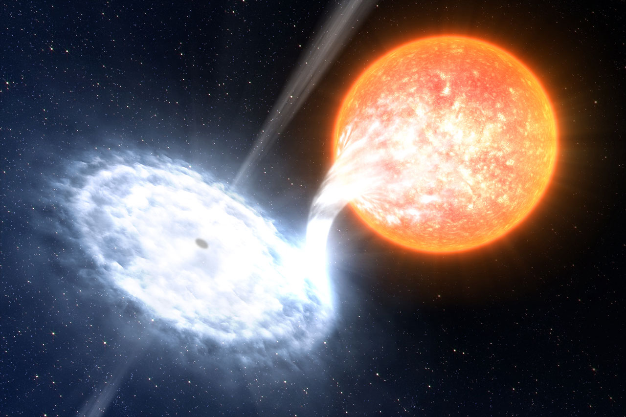 Black Hole Binary By ESO/L. Calçada