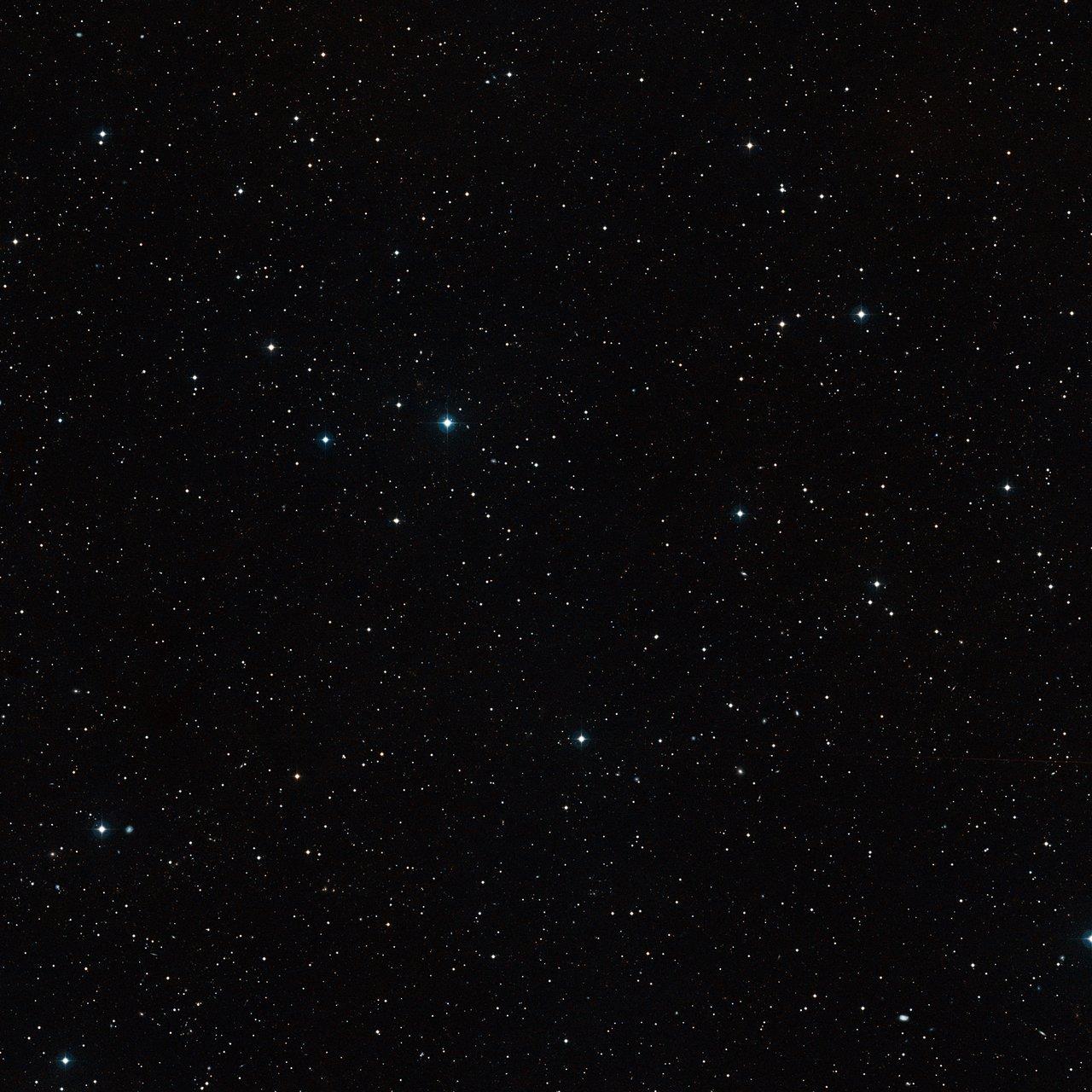 Окрестности двойной системы CFBDSIR 1458+10, удалённой от Солнечной системы на расстояние 75 световых лет