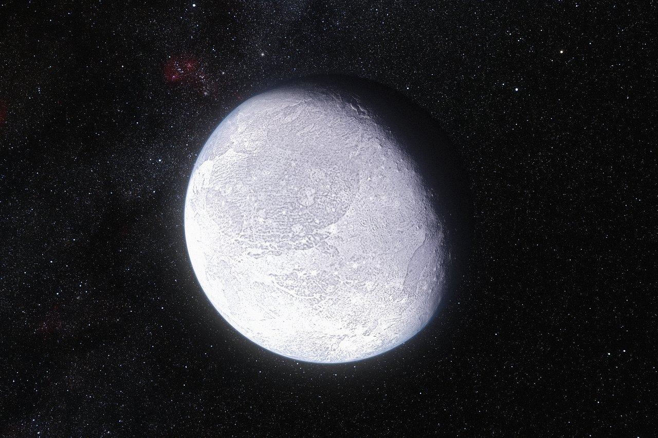 Eris la planète naine jumelle de Pluton. Eso1142a