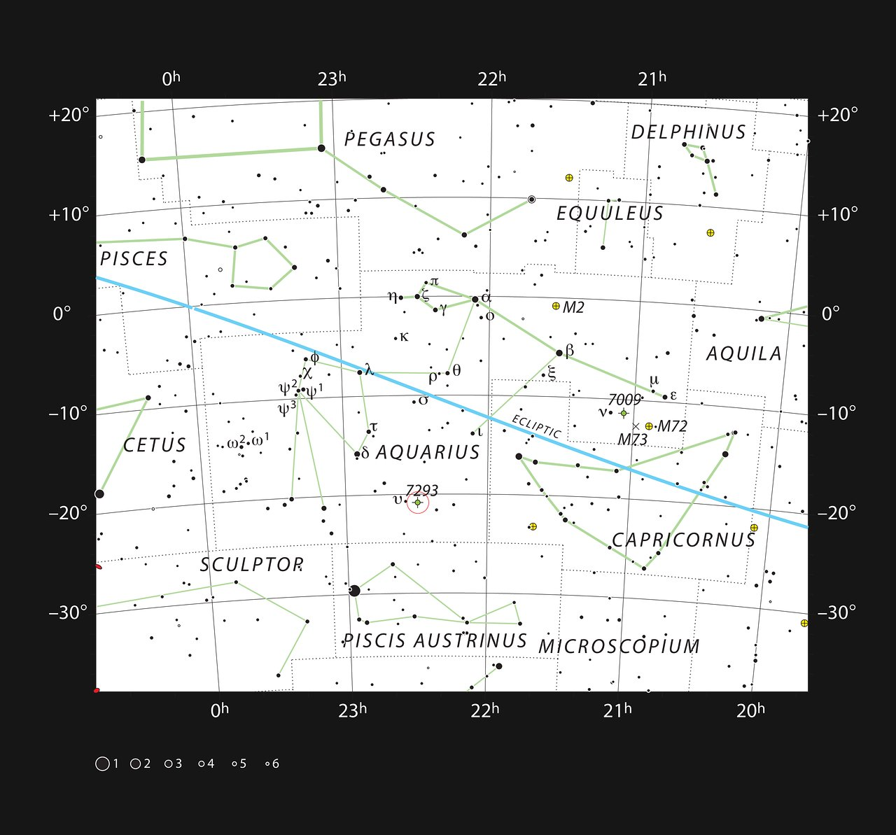 constellation map of helix nebula - photo #26