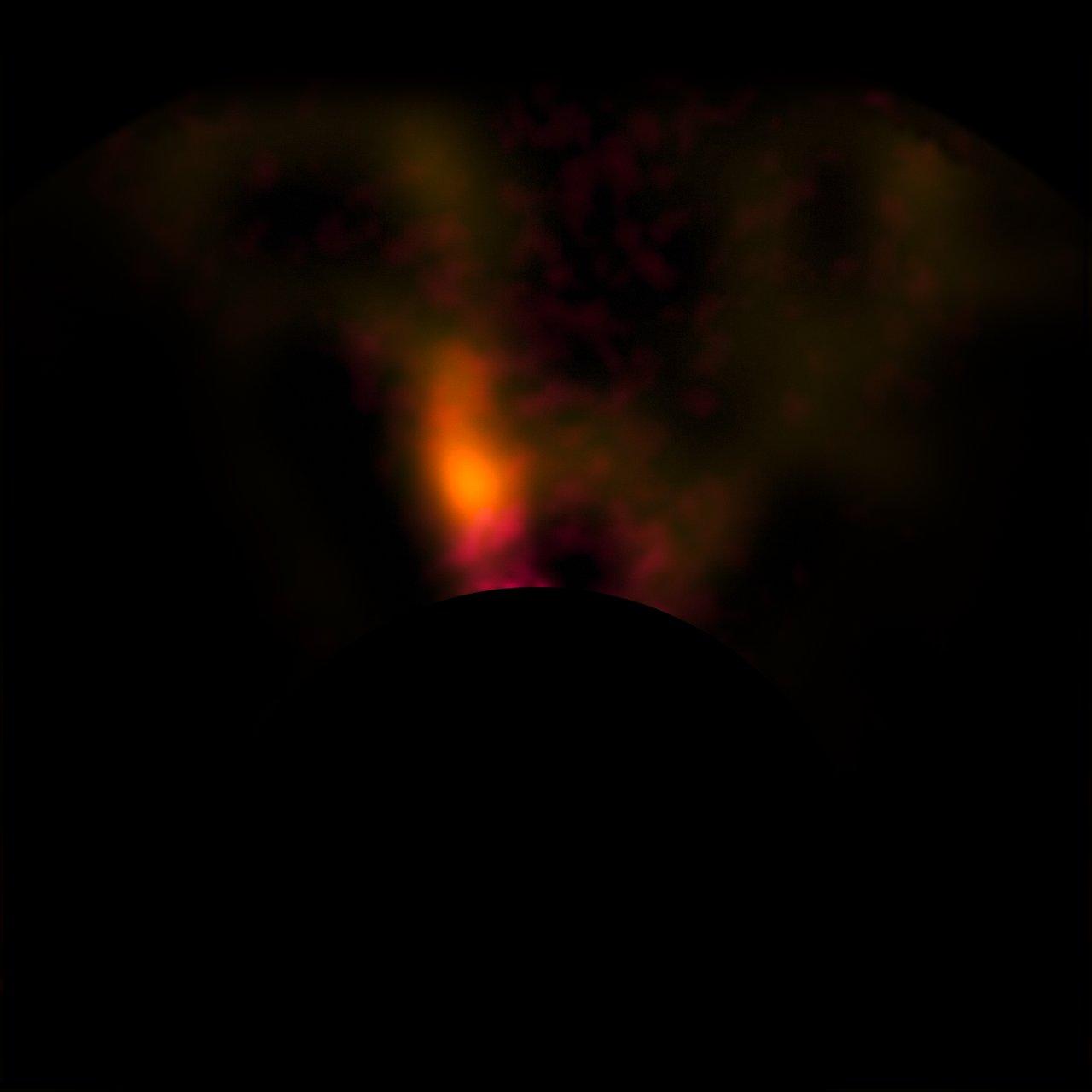 Protoplaneta u hvězdy HD 100546