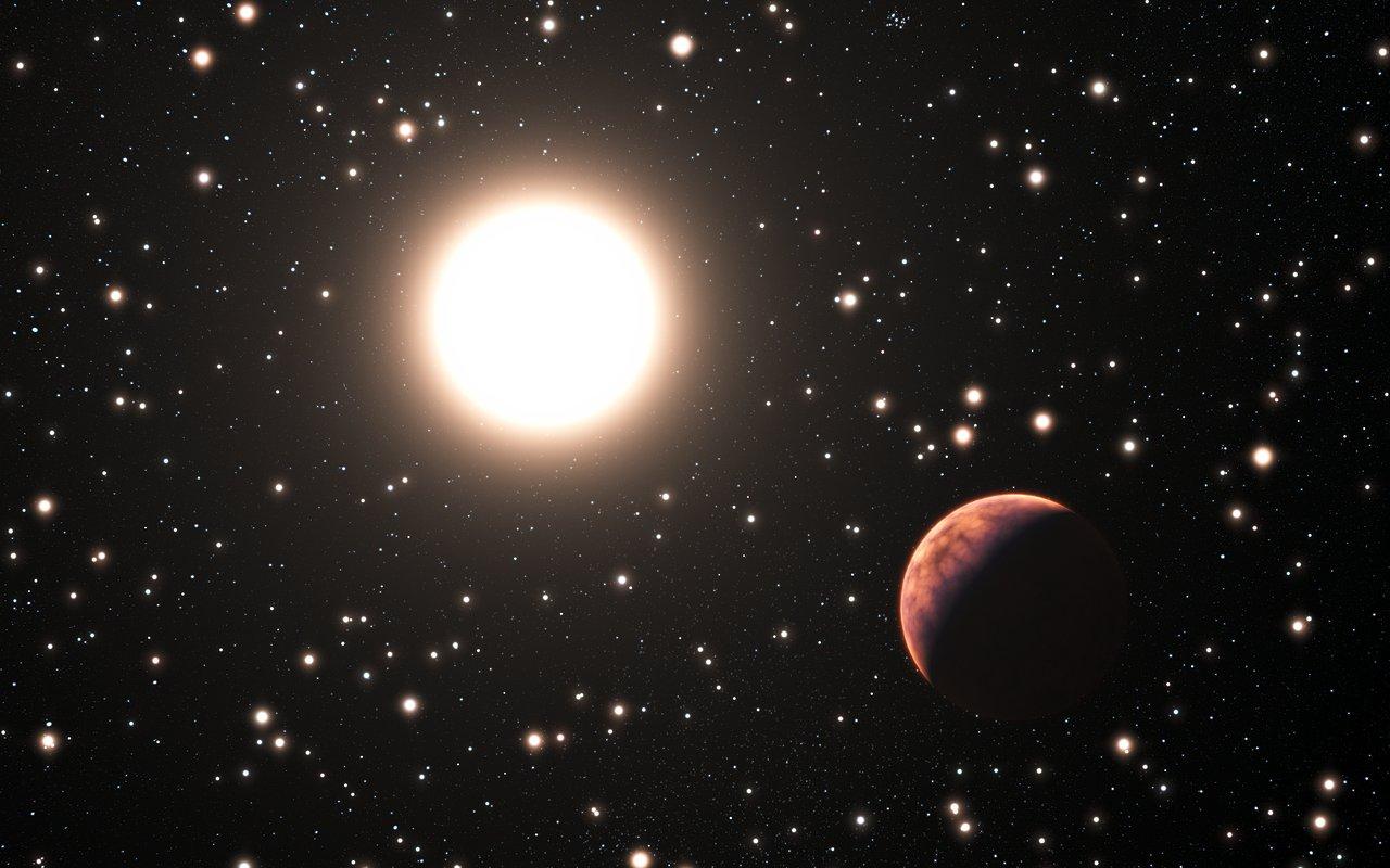 exoplanet landscape orbiting giant planet - photo #39