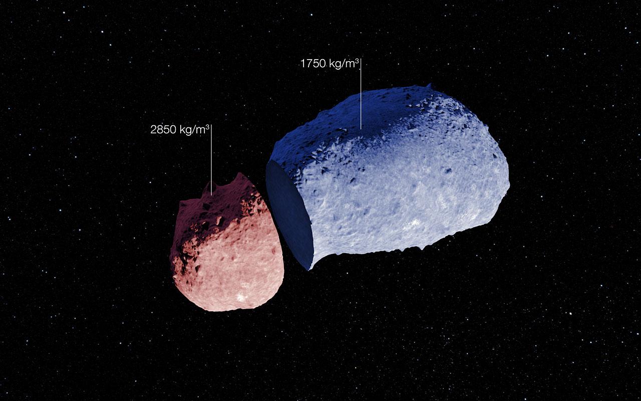 ice comet asteroids - photo #48
