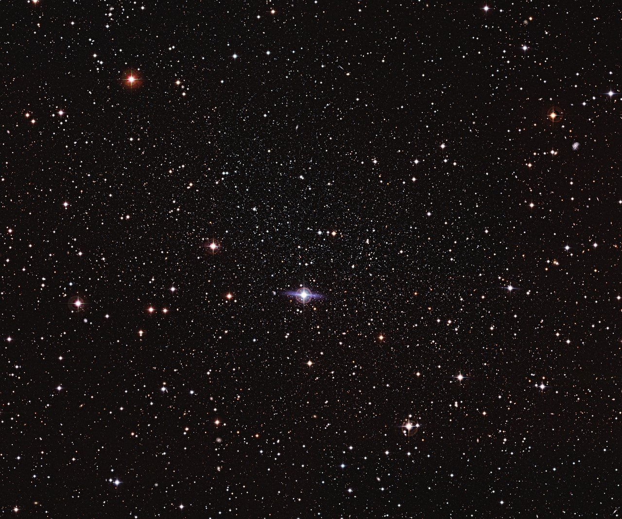 It s one of the closest galaxies to earth but the carina dwarf galaxy