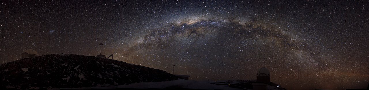 L'Observatoire de La SIlla sous la Voie Lactée