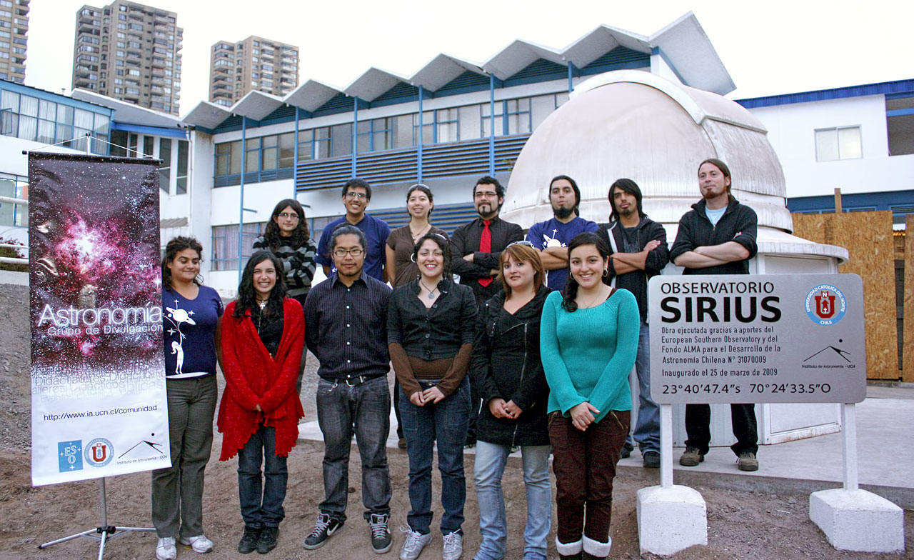 ... of the Astronomy Institute at Universidad Católica del Norte | ESO