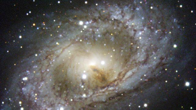 NGC6300 galaksen fotiograferet med det danske NTT teleskop