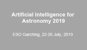 Artificial Intelligence for Astronomy 2019