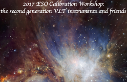 2017 ESO Calibration Workshop: the second  generation VLT instruments and friends