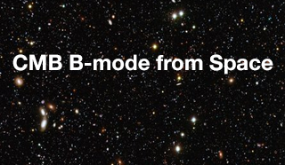 CMB B-mode from Space