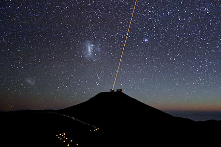 Paranal Observatory at Night