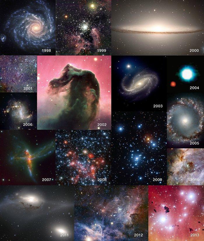 O 15º aniversário do Very Large Telescope
