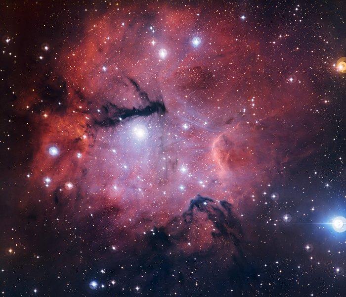 Het stervormingsgebied Gum 15