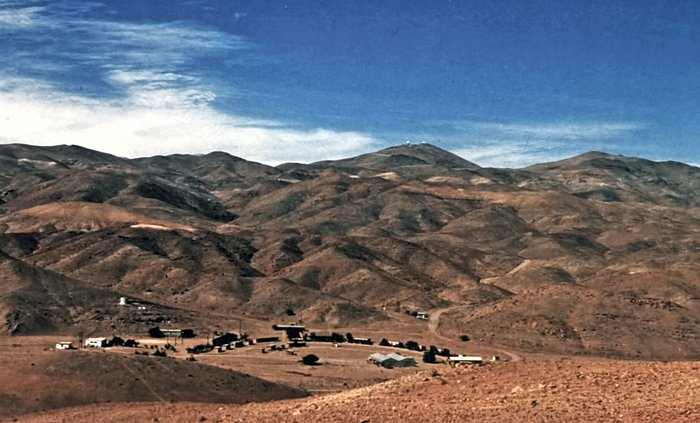 Camp Pelicano at La Silla