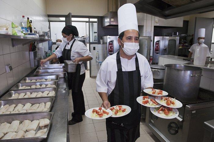 The Residencia kitchen at Paranal
