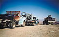 1-metre Schmidt Telescope on its way to La Silla