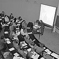 First Colloquium at ESO HQ, 1980.