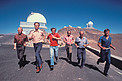 La Silla staff in 1980
